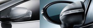 آینه های جانبی تاشونده برقی